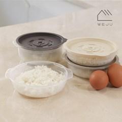 [위주]스팀 냉동밥 전자레인지 조리용기 450ml 12개_(2666610)