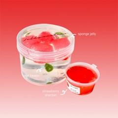 [젤시스슬라임] 딸기에이드 / 클리어지글리슬라임 260ml