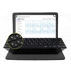오젬 갤럭시탭S6 10.5 태블릿PC 고리형 IK 키보드 케이스
