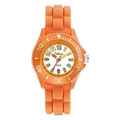 [컬러리] 넘버오렌지 키즈 아동 어린이 손목시계
