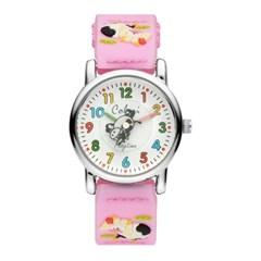 [컬러리] 카우 키즈 아동 어린이 손목시계