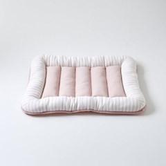 [모던하우스] 펫본 폭신폭신 스트라이프 방석 핑크
