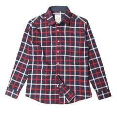 남자 소프트 체크 약기모 포켓 캔퍼스룩 30대 데일리 셔츠