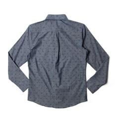 남자 물고기 패턴 빅사이즈 어버이날선물 데일리 티셔츠