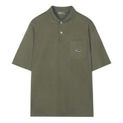 [에코] 포켓 카라 반팔 티셔츠 SPHAA24C17