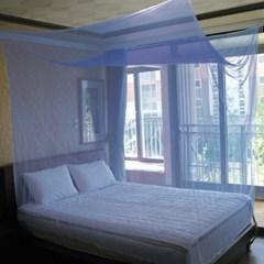 심플 사각 모기장 / 여름 침대모기장