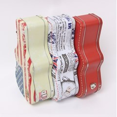 기타케이스 틴케이스 런치박스 도시락 가방