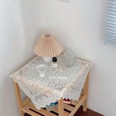 알레강스한 빈티지 4인용 레이스 테이블보 식탁보 3SIZE