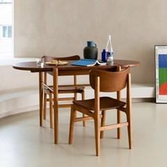빈트로 확장형 테이블 2인 세트