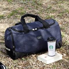 크로스 끈 탈부착 멀티 1박2일 여행용 보스턴백 가방
