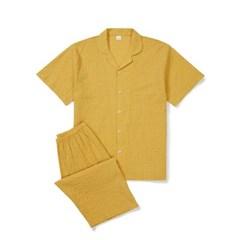 남성반팔잠옷 홈웨어 래피 반소매 페어 3138(남성)