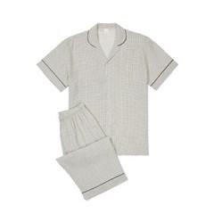 남성반팔잠옷 홈웨어 메이슨 반소매 페어 3164(남성)