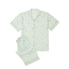 남성반팔잠옷 홈웨어 테니스애니원 반소매 페어 3118(남성)