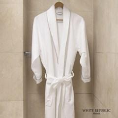 [화이트리퍼블릭] 순면 와플 호텔 목욕가운 (여성용,남성용)
