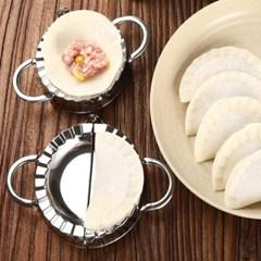 스텐 만두 메이커 만두피 커터 제조기 만두주걱 증정