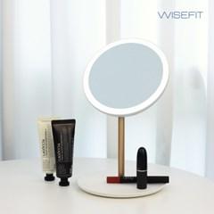 와이즈핏 LED거울 BW1001 탁상거울 메이크업 밝기조절