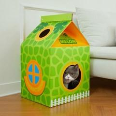 [냥이의 집] 고양이 종이집 점보 사이즈 4종(스크래쳐 및 캣닢 포함)