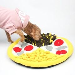 강아지 스너플매트 코방석 피자 노즈워크 훈련담요 분리불안해소