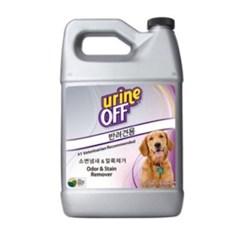 유린오프 강아지 탈취제 소변냄새 제거제 3.78L