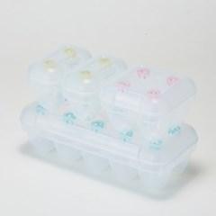 씨밀렉스 계란 신선 트레이 2호 세트(2구*2개+4구*1개+10구*1개)