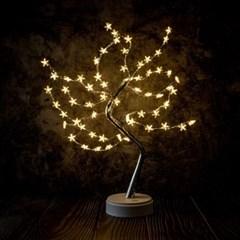 감성나무 LED 무드등(별) USB 무선 취침 테이블조명