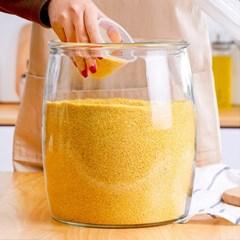 인블룸 밀폐 강화유리 쌀통 잡곡통 6.5kg_(3363750)