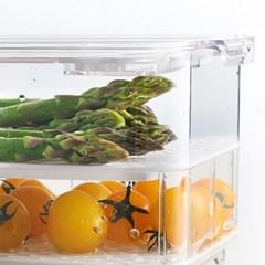 냉장고트레이 물빠짐 식품 야채 과일 보관함 정리용기