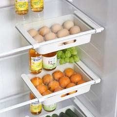 1+1 서랍형 냉장고 12구 계란보관 에그트레이 다용도 과일야채보관함