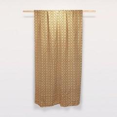 [만옥]취화 가리개 커텐 m 빈티지 패턴 식탁보 홍콩 커튼