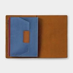 B-Sides & Rarities - Cotton Zipper Case 패스포트 - BLUE