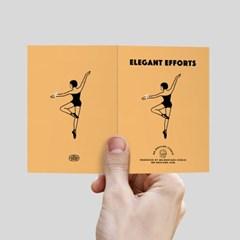 Elegant Efforts 미니카드 orange