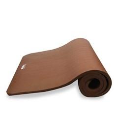 업앤쉐이프 요가매트와이드NBR16mm(브라운)