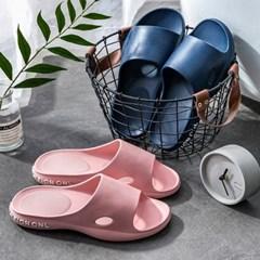 발을 감싸주는 레터링 EVA 미끄럼방지 욕실화 거실화 6color