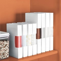 각종 비닐봉투 쓰레기봉투 정리케이스 (소) 2개