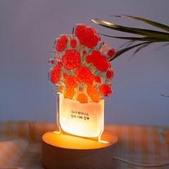 어버이날 카네이션 화분무드등🌸부모님선물 스승의날꽃풍선