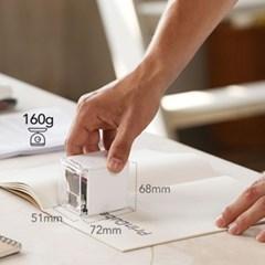 세상에서 가장 작은 모바일 컬러프린터 프린큐브 잉크포함 PrinCube
