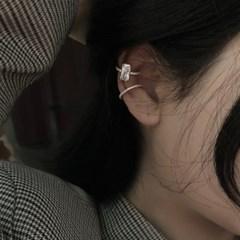 귀 안뚫는 여자 큐빅 링귀찌 이어커프 논피어싱 [1pcs]