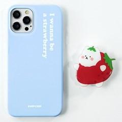 칩톡 하드 케이스 디자인 제작 갤럭시 S21 노트 아이폰12 빼꼼딸기