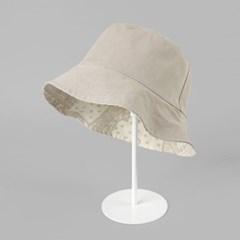 [베네]솔리드&페이즐리 양면 벙거지 모자