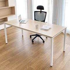 DK9799 스틸프레임 심플 책상 테이블 1800x800_(303213096)