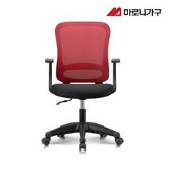 엘리트의자 1.0  패브릭 블랙바디-발받침