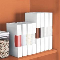 각종 비닐봉투 쓰레기봉투 정리케이스 (대) 2개
