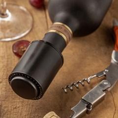 프리미엄 진공 와인스토퍼 - 와인 오픈일 표시가능