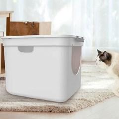 사막화방지 고양이 화장실 배변실 대형 ABS