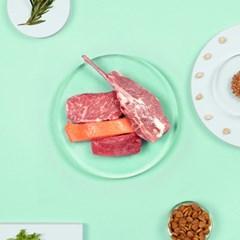 브이랩 커스터밀 반습식 고급사료 맞춤영양사료 미트&피쉬 300g [1+1