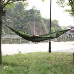 [캠핑존] 플라잉 초경량 캠핑해먹 (밀리터리/270x140cm)