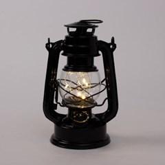 별빛밤 LED 캠핑램프(B형)(블랙) /차박 건전지 무선 랜턴무드등