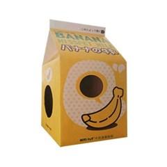 고양이 밀크 하우스 스크래쳐 바나나우유 장난감