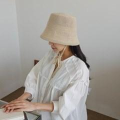 턱끈 지사 기본 무지 꾸안꾸 보넷 버킷햇 벙거지 모자
