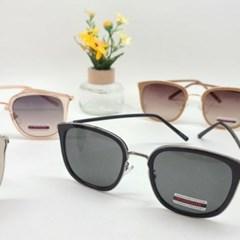 사각 블랙 핑크 미러 도수없는 가벼운 패션 선글라스